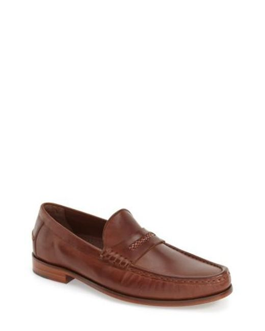 Cole Haan | Brown 'pinch Gotham' Penny Loafer for Men | Lyst