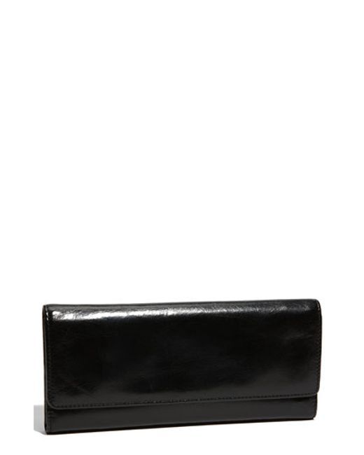 Hobo | Black 'sadie' Leather Wallet | Lyst