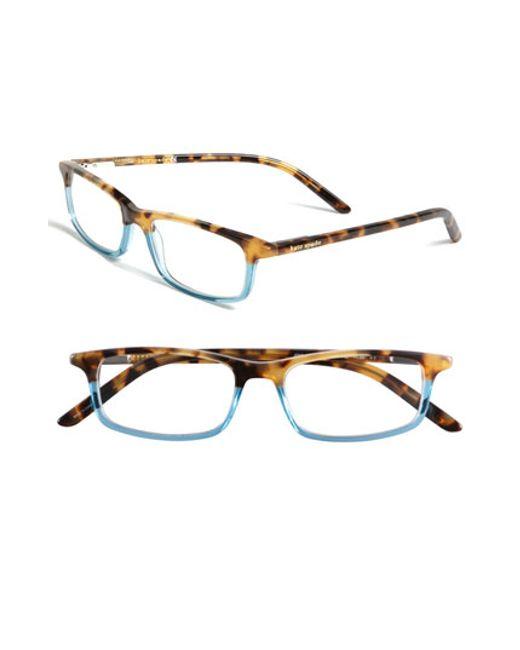 Kate Spade | Blue Jodie 50mm Reading Glasses - Havana Teal | Lyst