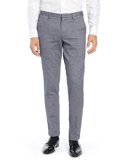 BOSS - Blue Kaito Slim Fit Pants for Men - Lyst