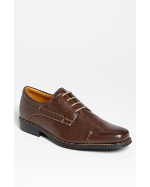 Sandro Moscoloni Men's 'Belmont' Bicycle Toe Derby ON5N6O