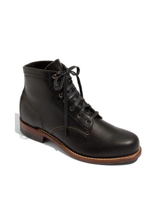 Wolverine | Black '1000 Mile' Plain Toe Boot for Men | Lyst