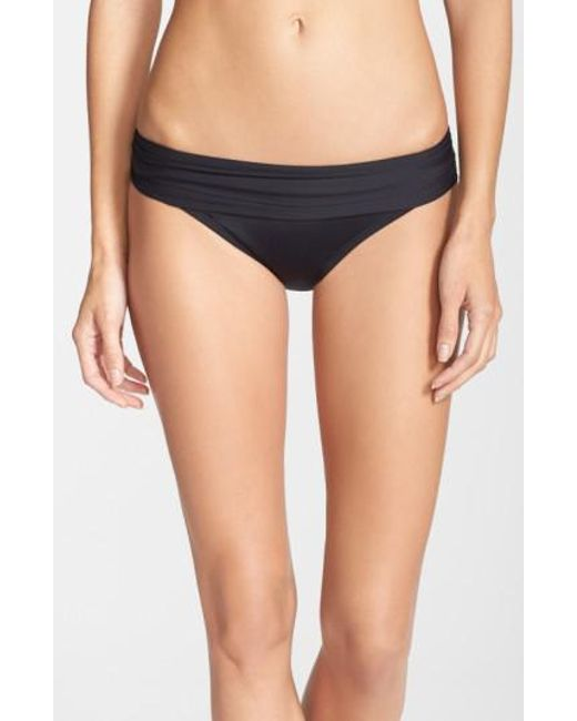 La Blanca | Black 'renew & Refresh' Hipster Bikini Bottoms | Lyst