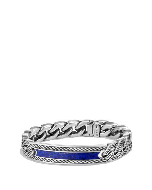 David Yurman - Metallic 'maritime' Curb Link Id Bracelet for Men - Lyst