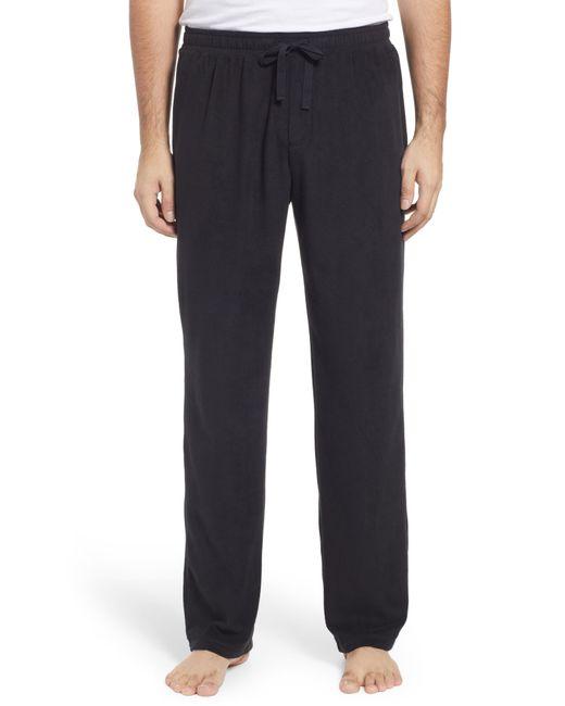 Nordstrom Black Men's Fam Jam Microfleece Pajama Pants for men