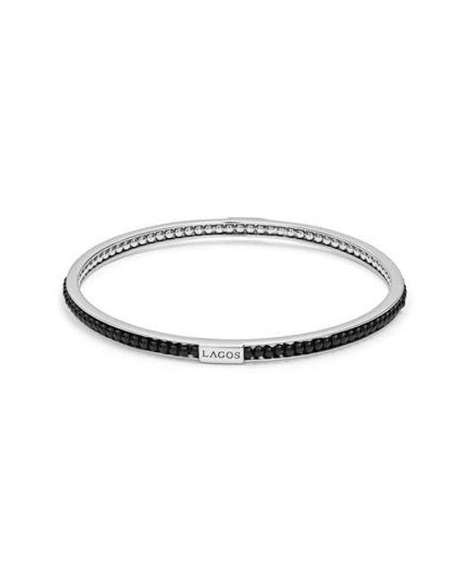 Lagos - Metallic Caviar Icon Beaded Bangle Bracelet - Lyst