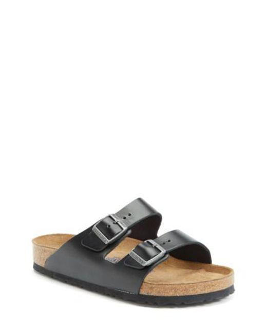 Birkenstock - Black 'arizona Soft' Sandal for Men - Lyst