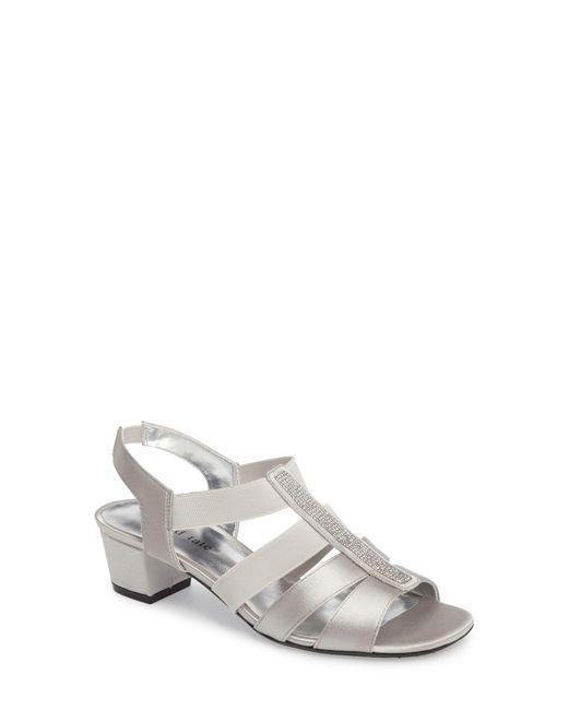 David Tate - Metallic Eve Embellished Sandal - Lyst