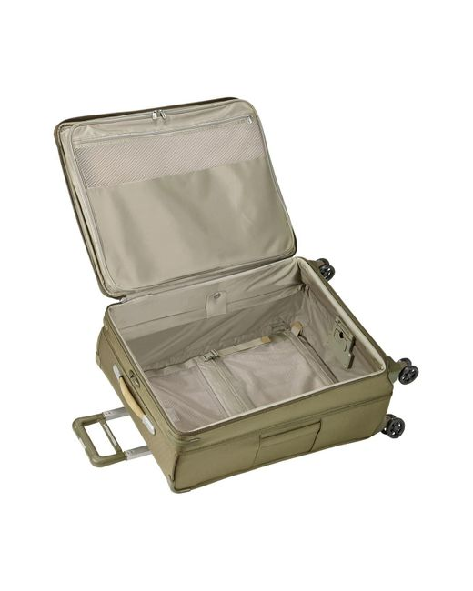Briggs & Riley Green Baseline 28-inch Large Expandable Spinner Packing Case