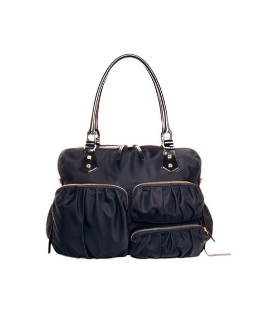 MZ Wallace | Black 'kate' Bedford Nylon Handbag | Lyst