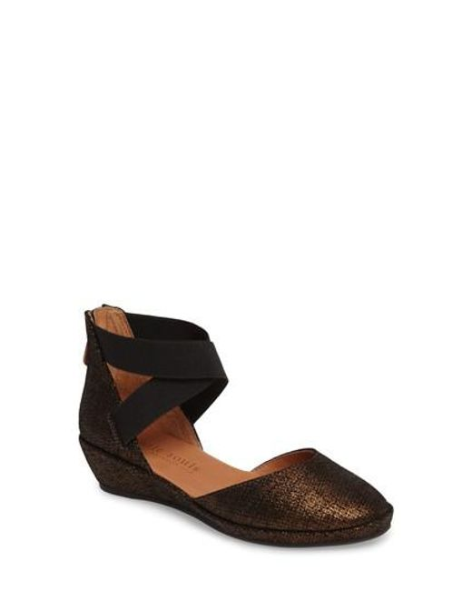 Gentle Souls - Brown By Kenneth Cole 'noa' Elastic Strap D'orsay Sandal - Lyst