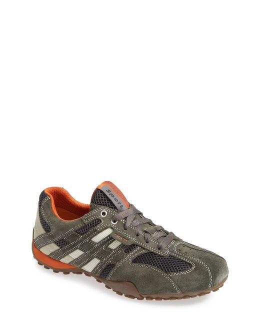 Geox Gray Uomo Snake 94 Sneakers for men