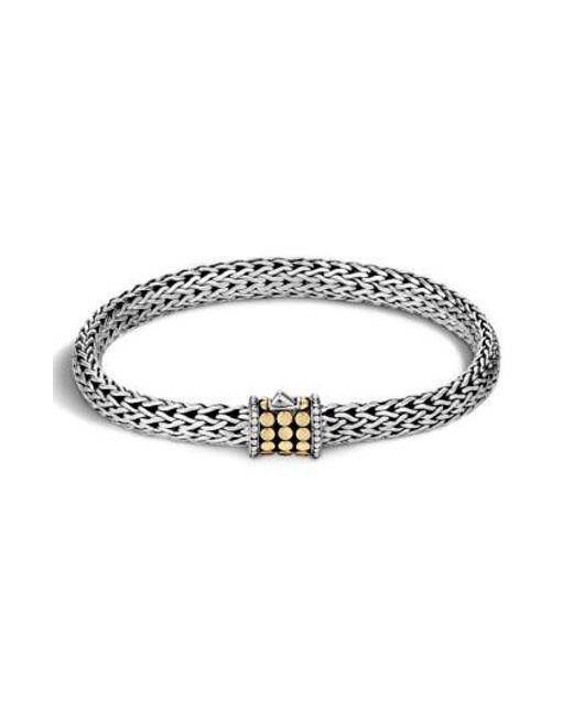 John Hardy   Metallic 'dot' Small Bracelet   Lyst