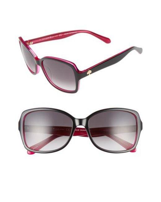 Kate Spade - Multicolor 'ayleens' 56mm Sunglasses - Lyst