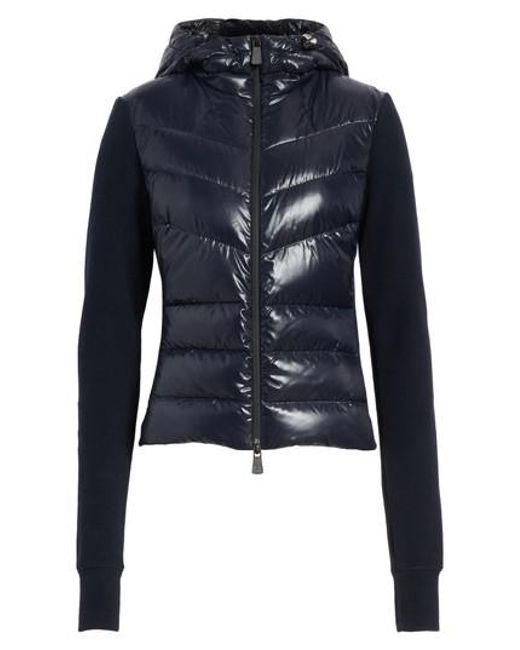 moncler quilted shell jacket women's