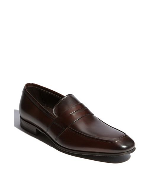 To Boot | Brown 'senato' Penny Loafer for Men | Lyst