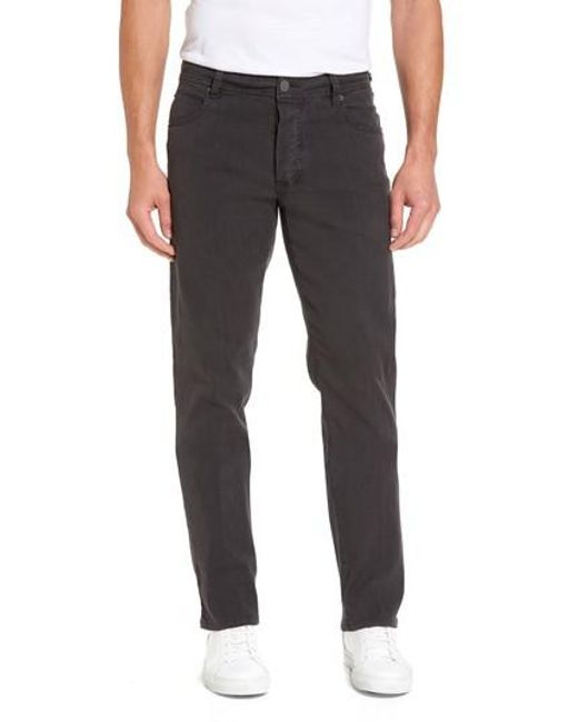 James Perse - Black Straight Leg Five-pocket Pants for Men - Lyst