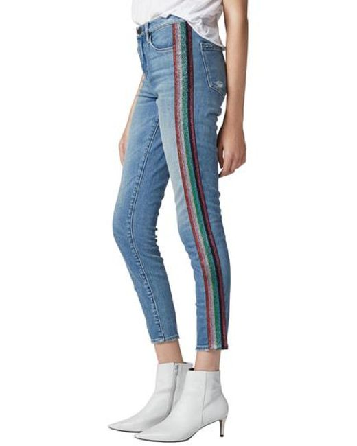 2affb4c44149 Lyst - Blank Nyc The Bond Skinny Jeans in Blue