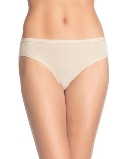 Wacoal | Natural 'b Fitting' Bikini | Lyst