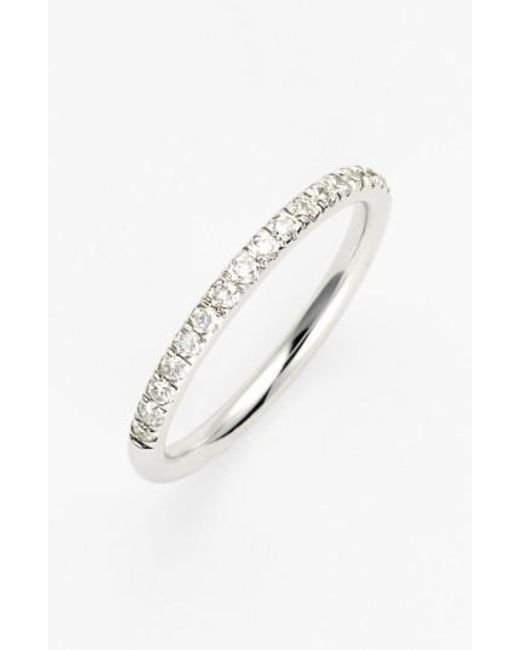 Bony Levy - Metallic 'stackable' Large Straight Diamond Band Ring (nordstrom Exclusive) - Lyst