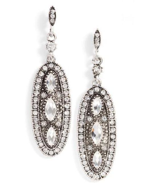 SAREH NOURI | Metallic Drop Earrings | Lyst