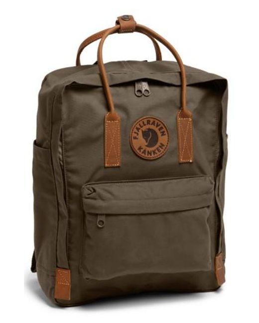 Fjallraven - Green 'kanken No. 2' Backpack - Lyst