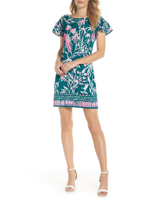 Lilly Pulitzer - Blue Lilly Pulitzer Marah Shift Dress - Lyst