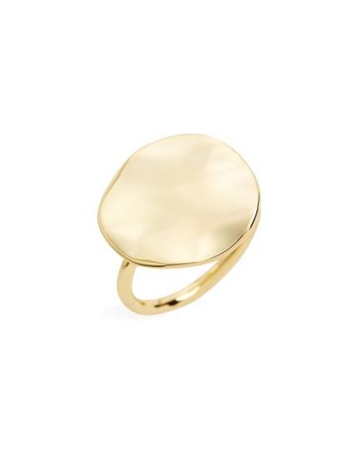 Gorjana | Metallic Chloe Disc Ring | Lyst