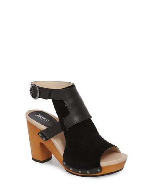 Jambu Gina Nubuck Leather Sandals LNj44U