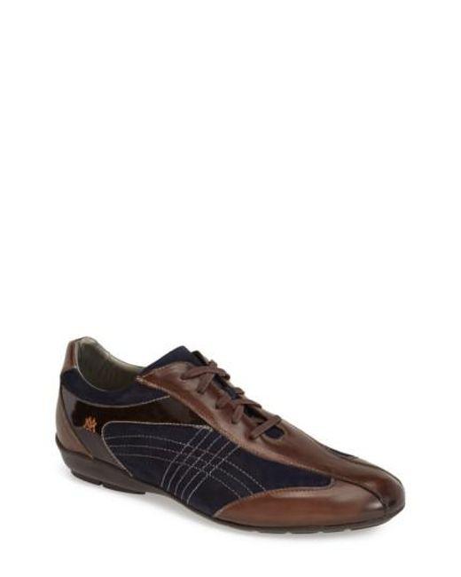 Mezlan | Brown 'vega' Sneaker for Men | Lyst