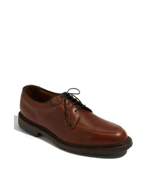 Allen Edmonds - Brown 'wilbert' Split Toe Derby for Men - Lyst