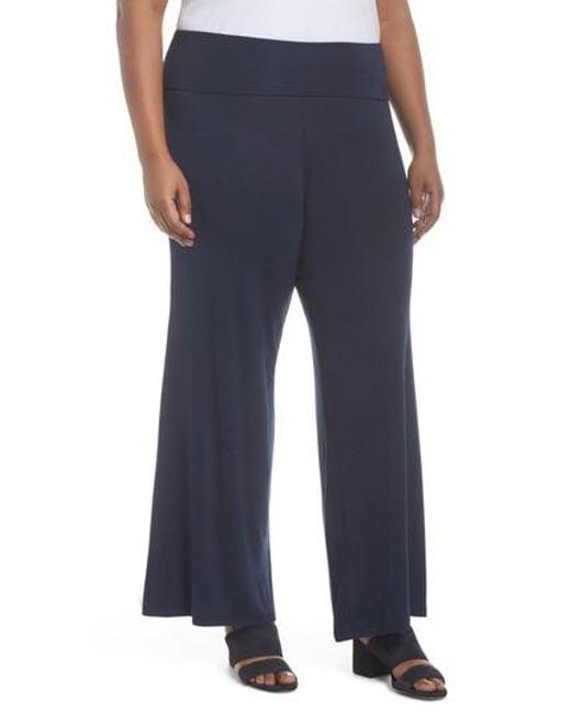 Soprano - Blue Knit Pants - Lyst
