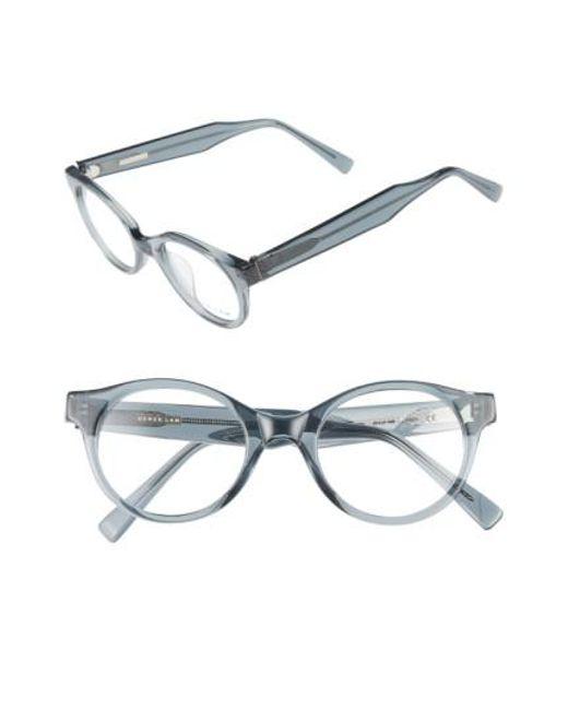Derek Lam   Gray 45mm Optical Glasses   Lyst