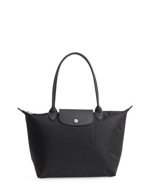 Longchamp - Black Small Le Pliage Neo Nylon Tote - Lyst