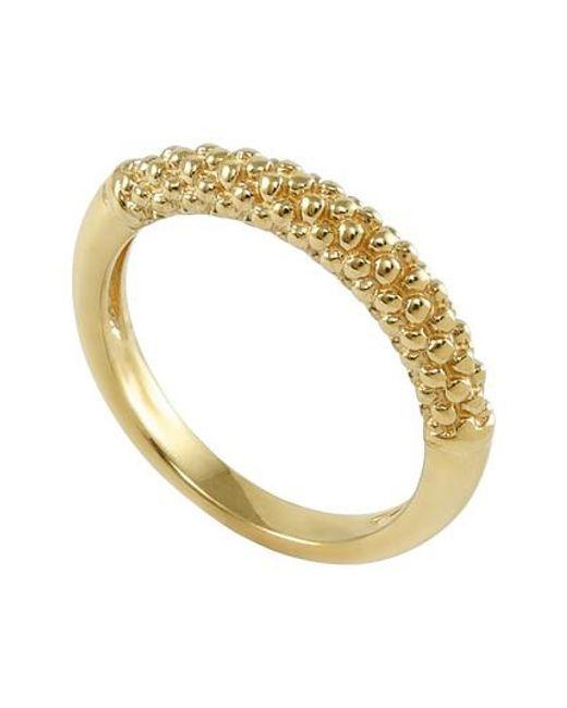Lagos - Metallic Caviar Band Ring - Lyst