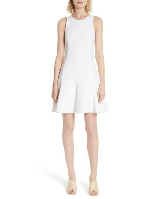 Elizabeth and James - White Bristol Seamed Fit & Flare Dress - Lyst