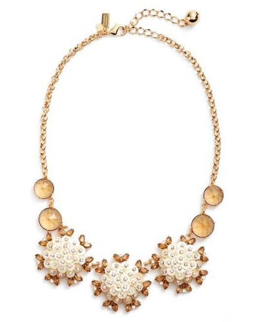 Kate Spade - Metallic Be Bold Statement Collar Necklace - Lyst