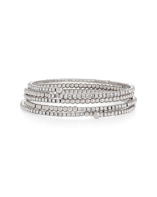 BP. Metallic Coil Bracelet