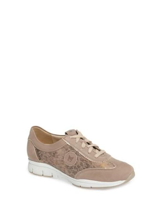 Mephisto - Gray 'yael' Soft-air Sneaker - Lyst
