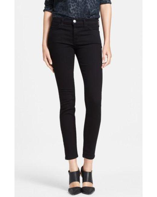 Current/Elliott | Black 'the Stiletto' Skinny Jeans | Lyst