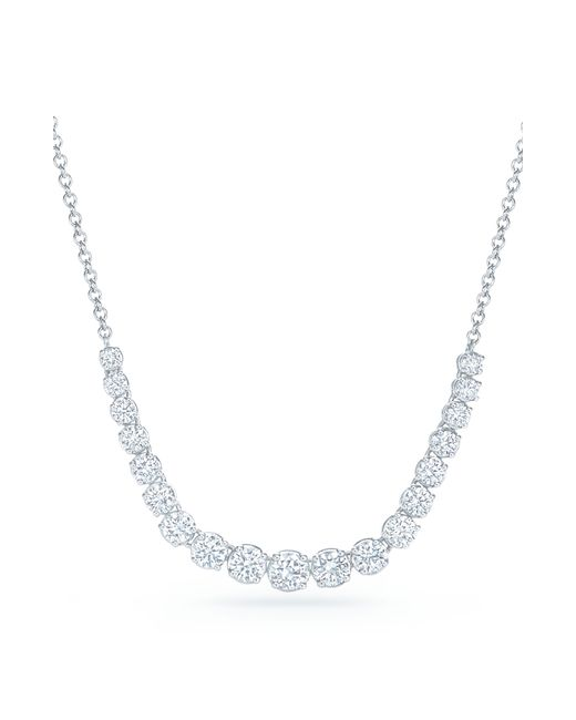 Kwiat - Metallic Riviera Diamond Pendant Necklace - Lyst
