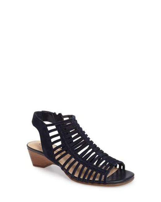 Bella Vita | Blue Pacey Cage Sandal | Lyst
