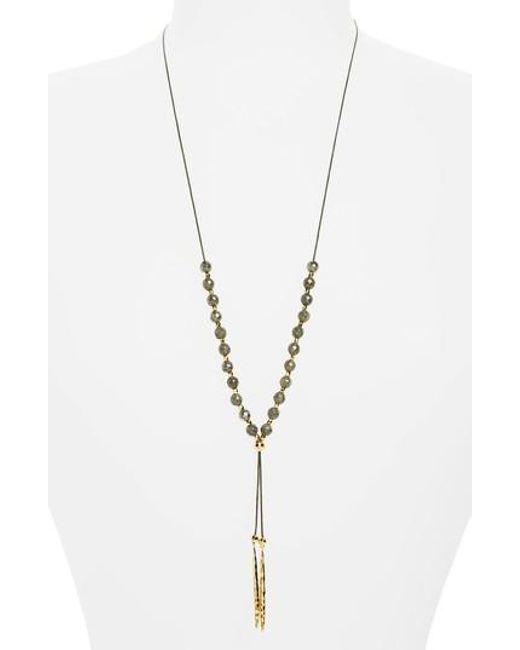 Gorjana | Metallic Convertible Necklace | Lyst