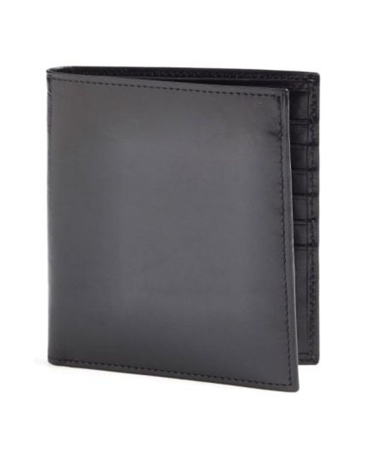 Bosca - Black 'old Leather' Credit Wallet for Men - Lyst