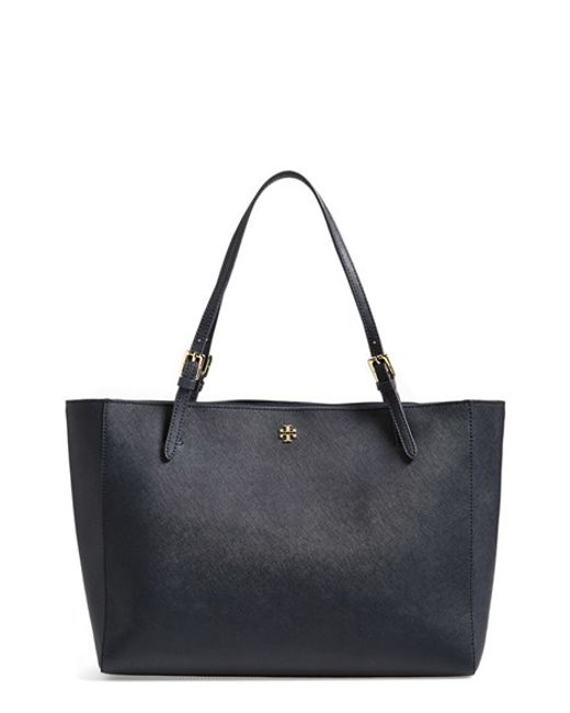 Tory Burch | Blue 'york' Buckle Tote | Lyst
