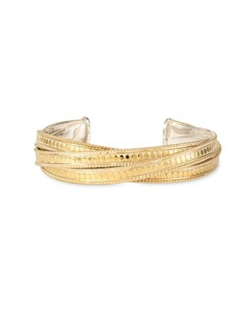Anna Beck | Metallic 'timor' Wire Twist Cuff | Lyst