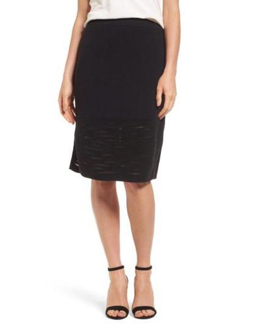 NIC+ZOE | Black Aurora Skirt | Lyst