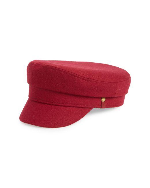 Frye - Red Fiddler Merino Wool Cap - Lyst