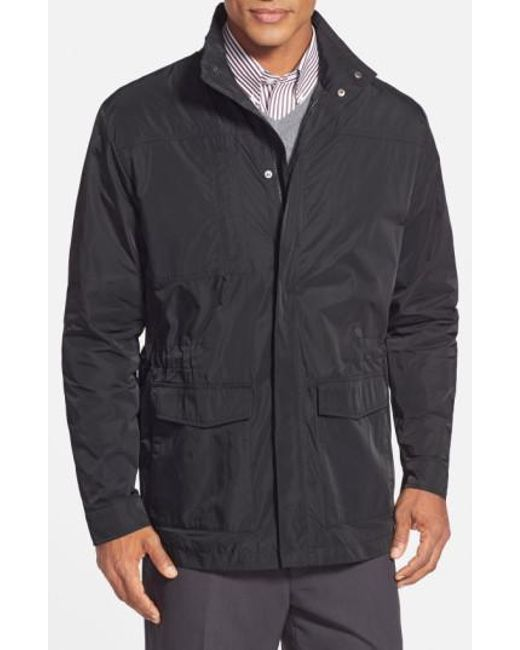 Cutter & Buck - Black Birch Bay Water Resistant Jacket for Men - Lyst
