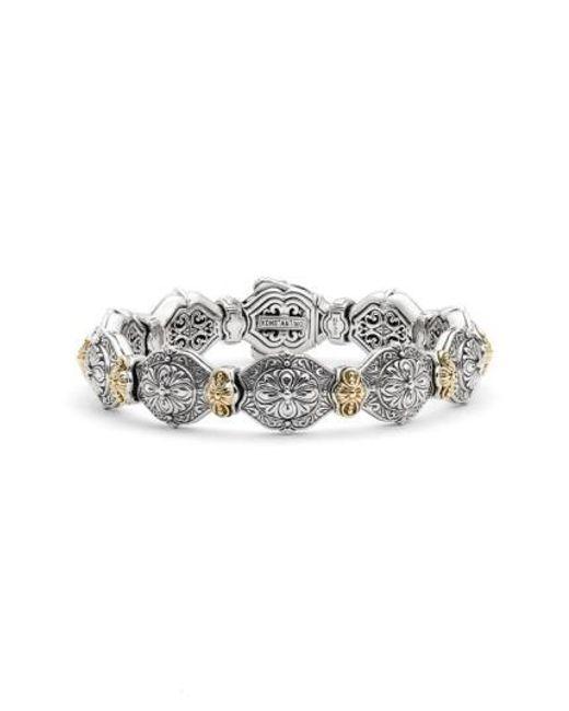 Konstantino | Metallic 'silver & Gold Classics' Link Bracelet | Lyst